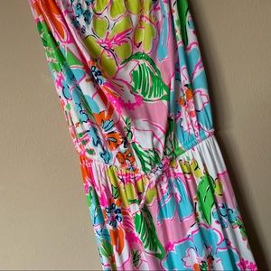 Long Strapless Lilly Pulitzer Dress